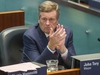 Toronto Mayor John Tory during a council meeting at city hall in Toronto, Ont. on Thursday September 13, 2018. The city voted to challenge Ontario's Bill 31 - which would shrink the size of council - in the courts.  Ernest Doroszuk/Toronto Sun/Postmedia