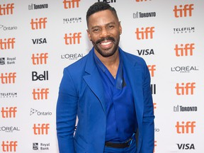 """Colman Domingo attends a red carpet for the movie """" If Beale Street Could Talk"""" during the 2018 Toronto International Film Festival in Toronto on Sunday, Sept. 9, 2018."""