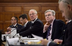 Border Security Minister Bill Blair appears as a witness at a standing committee on public safety and national security on Parliament Hill in Ottawa in Sept. 2018. (Sean Kilpatrick/The Canadian Press)