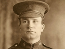 John William Gow Logan, a Canadian soldier killed at the Battle of the Somme, is shown in a handout photo provided by his great niece Leslie Lavers. / MANDATORY CREDIT