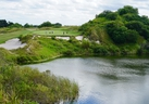 The signature par-3 seventh hole at Streamsong Blue is one of the most photographed at the resort. JON MCCARTHY/TORONTO SUN