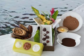 Sweet indulgences can be found everywhere in St. Lucia, including the spa at Jade Mountain Resort. (JADE MOUNTAIN)