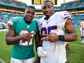 Depending on when and where you bet, the Dolphins-Bills game had some different outcomes. (GETTY IMAGES)