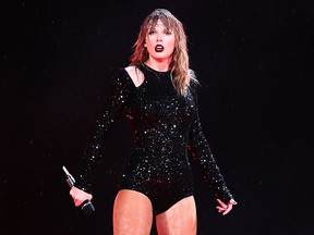 Taylor Swift performs at ANZ Stadium on Nov. 2, 2018 in Sydney, Australia. (Mark Metcalfe/Getty Images)