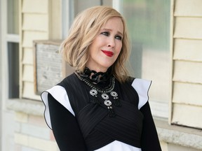 Catherine O'Hara of the television show Schitt's Creek is shown in a handout photo. Steve Wilkie/CBC