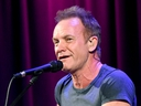 Singer/songwriter Sting performs onstage at the Grammy Museum on October 26, 2016 in Los Angeles, California.  (Photo by Kevin Winter/Getty Images)