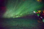 Northern Lights are seen from an airplane in this undated handout photo.  THE CANADIAN PRESS/HO, Neil Zeller Photography