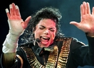 Michael Jackson performs during his