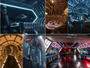 Star Wars: Galaxy's Edge will open in summer 2019 at Disneyland Park in Anaheim, California, and fall 2019 at Disney's Hollywood Studios in Lake Buena Vista, Fla. At 14 acres each, Star Wars: Galaxy's Edge will be Disney's largest single-themed land expansions ever, transporting guests to Black Spire Outpost, a village on the never-before-seen planet of Batuu. The lands will have two signature attractions: Millennium Falcon: Smugglers Run will let guests take the controls of one of the most recognizable ships in the galaxy, while Star Wars: Rise of the Resistance puts guests in the middle of an epic battle between the First Order and the Resistance. (Disney Parks)