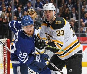 William Nylander and the Leafs will take on Zdeno Chara's Boston Bruins during the first round of the playoffs. (GETTY IMAGES)