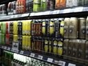Beer, including Ontario craft beers, are shown at a grocery store in Ottawa on Aug. 9, 2018.