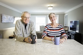 Bruce and Jan Mochrie moved into The Village at St. Elizabeth Mills in Hamilton in 2017.