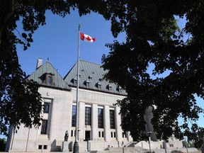 The Supreme Court of Canada in Ottawa on Tuesday, July 10, 2012.