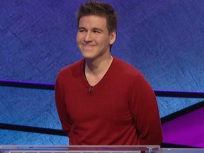 """James Holzhauer on an episode of """"Jeopardy!"""""""
