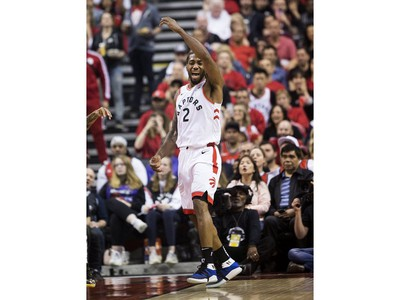 Game 6 first half action between the Toronto Raptors and Milwaukee Bucks,  in Toronto, Ont. on Sunday May 26, 2019. Stan Behal/Toronto Sun/Postmedia Network