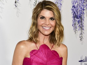 According to documents released March 12, 2019 actress Lori Loughlin is among 50 people charged in a college entrance exam cheating ploy.  (Rodin Eckenroth/Getty Images)