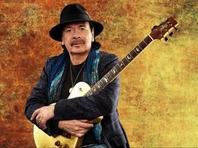 Carlos Santana. (Maryanne Bilham Photo)