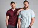 Jet and Dave are no strangers to fans of The Amazing Race Canada. The best friends from London, Ont., return to the series for its seventh season on July 2. (CTV)