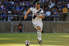 L.A. Galaxy forward Zlatan Ibrahimovic will be tough to handle for TFC. (USA TODAY SPORTS)