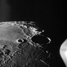 The moon seen from lunar orbit by the crew of Apollo 11. Photo: NASA