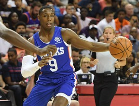 R.J. Barrett of the New York Knicks will not be suiting up for Canada at the FIBA World Cup. GETTY IMAGES