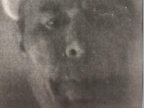 Toronto Police have released this image of a man sought in an alleged break-and-enter where a face was photocopied.