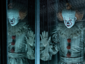 Bill Skarsgard returns as Pennywise the clown in It: Chapter Two. (Warner Bros.)