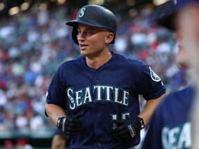 Kyle Seager of the Seattle Mariners. (RONALD MARTINEZ/Getty Images files)