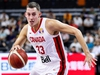 DONGGUAN, CHINA - SEPTEMBER 05: #33 Kyle Wiltjer of Canada drives during the 2019 FIBA World Cup, first round match between Canada and Senegal at Dongguan Basketball Center on September 05, 2019 in Dongguan, China. (Photo by Zhizhao Wu/Getty Images)
