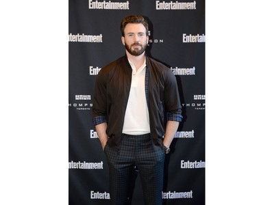 Chris Evans attends Entertainment Weekly's Must List Party at the Toronto International Film Festival 2019 at the Thompson Hotel on Sept. 7, 2019 in Toronto.