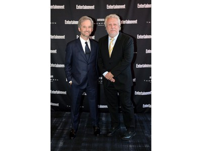 Scott Alexander (L) and Larry Karaszewski attend Entertainment Weekly's Must List Party at the Toronto International Film Festival 2019 at the Thompson Hotel on Sept. 7, 2019 in Toronto.