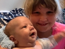 Brave Khloe Land is just four years old but her courage helped save baby brother Colton's life.