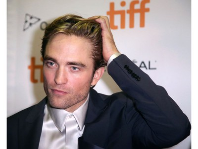 Robert Pattinson arrives for the North American premiere of the thriller