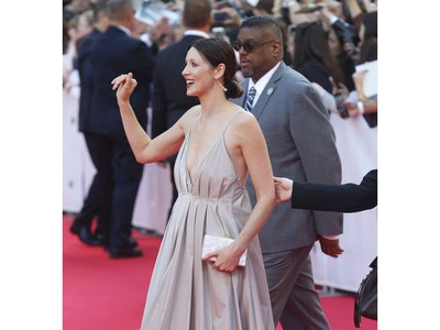 Premiere of Ford v. Ferrari with (pictured) Caitriona Balfe who plays Molly Miles during the Toronto International Film Festival in Toronto on Monday September 9, 2019. Jack Boland/Toronto Sun/Postmedia Network