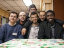 Sameer Zuberi, front middle, was spokesman for the Canadian Council on American-Islamic Relations. (Postmedia Network files)