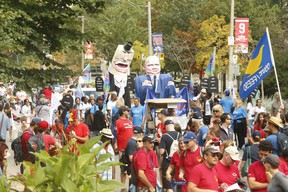 Thousands attended the 125th annual Labour Day parade with many organized labour unions marching from Queen St. W. and University Ave. to the CNE in a celebration of workers' rights in Toronto on Monday Sept. 2, 2019.