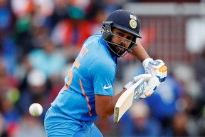 India's Rohit Sharma was back in action carving out five magnificent centuries against New Zealand. Reuters