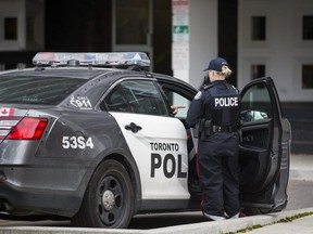 A critically injured man and woman were rushed to hospital and later died after being found suffering from obvious signs of trauma at 141 Davisville Ave. on Saturday, Oct. 26, 2019.  (Ernest Doroszuk/Toronto Sun/Postmedia Network)