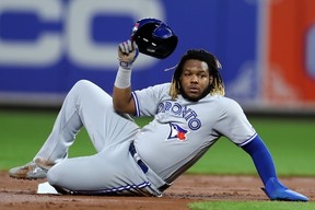 Jays' Vladimir Guerrero Jr. finished seventh in rookie of the year voting. (GETTY IMAGES)