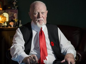 Don Cherry is pictured on Nov. 12, 2019. (Craig Robertson, Toronto Sun)