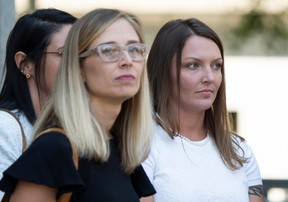 Annie Farmer, left, and Courtney Wild are among those suing the estate of convicted pedophile Jeffrey Epstein. GETTY IMAGES