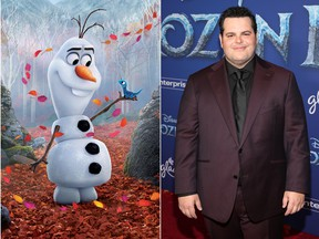 Frozen 2's Josh Gad says coming back for the sequel was 'terrifying.' (Getty Images)
