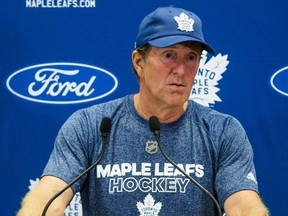 The Maple Leafs fired head coach Mike Babcock on Wednesday, Nov. 20, 2019.