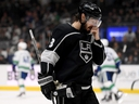 Kings defenceman Drew Doughty has rankled some fans with his comments about the Canucks and Leafs. GETTY IMAGES