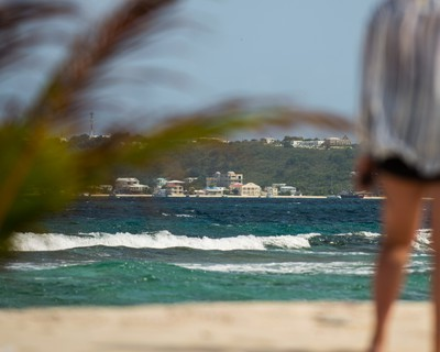 The view from Sandy Island, off the coast of Anguilla