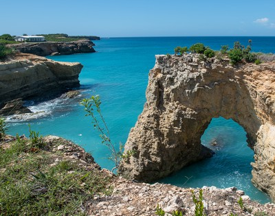 The famous 'Anguilla arch'