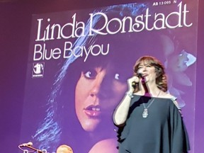 Ann Hampton Callaway performs during her Linda Ronstadt Songbook concert at Fox Theatre Tucson. (RUTH DEMIRDJIAN DUENCH)