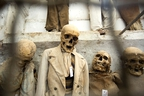 The Capuchin Crypt in Palermo, Sicily, displays mummified bodies — complete with clothing — intended to remind the living that life is temporary. (Dominic Arizona Bonuccelli)