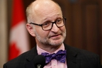 Canada's Minister of Justice and Attorney General of Canada David Lametti speaks to media in the House of Commons foyer on Parliament Hill in Ottawa December 12, 2019.  REUTERS/Blair Gable