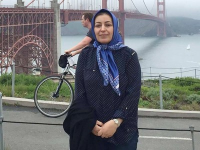 Shekoufeh Choupannejad, an obstetrician, gynecologistl, died along with her two daughters, Saba and Sara Saadat in the plane crash in Iran. Supplied